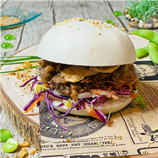 BAO BURGER PORC BARBECUE